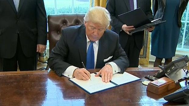 Donald J. Trump executive order