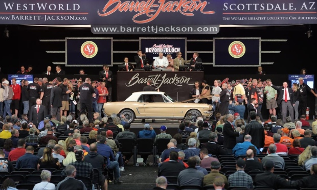 BarrettJackson And Other Arizona Auctions Show Skyhigh Classic Car - Westworld scottsdale car show