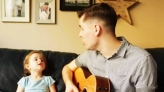 Dad-daughter duet stealing hearts one note at a ti