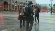 pedestrians, freezing rain, montreal