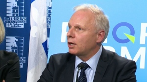 The Parti Quebecois is promising to cut regulation for businesses should it form the next government.