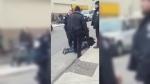 toronto police, arrest, church, dundas