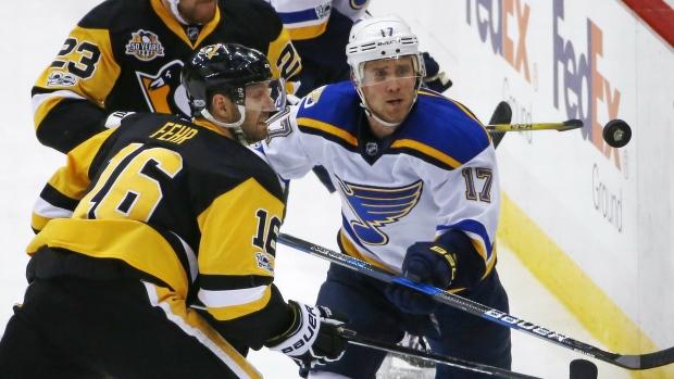 Pittsburgh Penguins' Eric Fehr