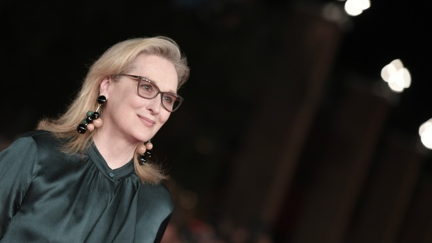 Meryl Streep celebrates her record 20th Oscar nod with the ideal GIF