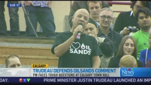 CTV News Channel: PM gets heated during town hall