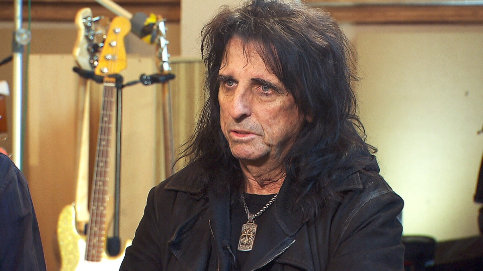 Legendary rock star Alice Cooper talks to CTV News about stress in the music industry and his struggles with alcoholism.