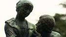 Sawatsky Sign-Off- Robbie Burns Statue