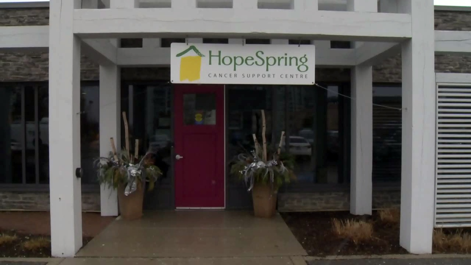 HopeSpring Cancer Support Centre in Kitchener is pictured on Thursday, Jan. 26, 2017.