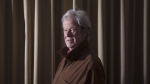 """Actor Gordon Pinsent is pictured in a Toronto hotel room as he promotes his film """"The River of My Dreams: A Portrait of Gordon Pinsent"""" during the 2016 Toronto International Film Festival on Sept. 13, 2016. (Chris Young / The Canadian Press)"""