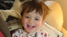 Shelley Sheppard and Chris Saini lost their one-year-old son, Mac, in an incident at an East Vancouver daycare on Jan. 18, 2017.