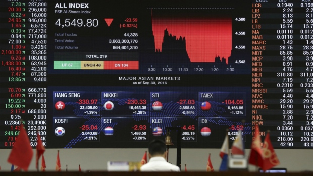 Stocks mixed as investors watch Trump