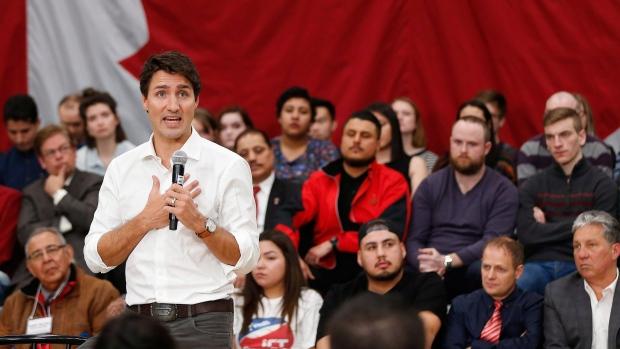 Trudeau to visit schools, focus on economy during town hall tour