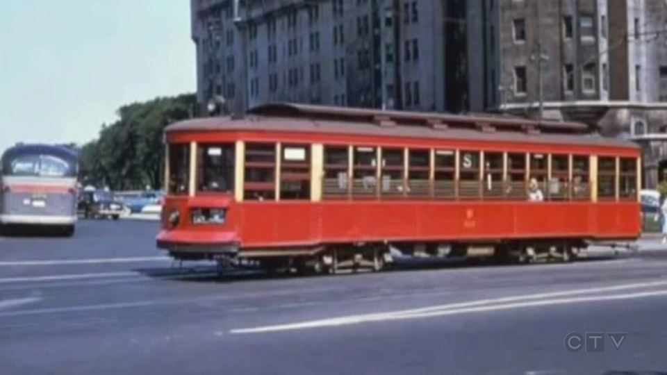 An Ottawa streetcar is shown in this undated file photo.