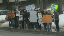 CTV Calgary: Trophy hunting protest attracts more?
