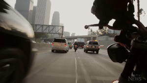 Motorcyclists call for lane splitting