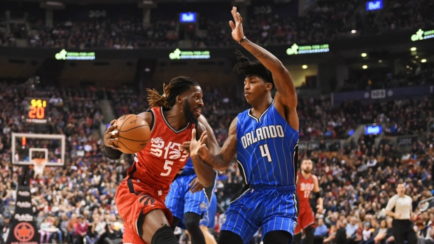 149e1dfb9 DeMarre Carroll drives to the basket against Magic