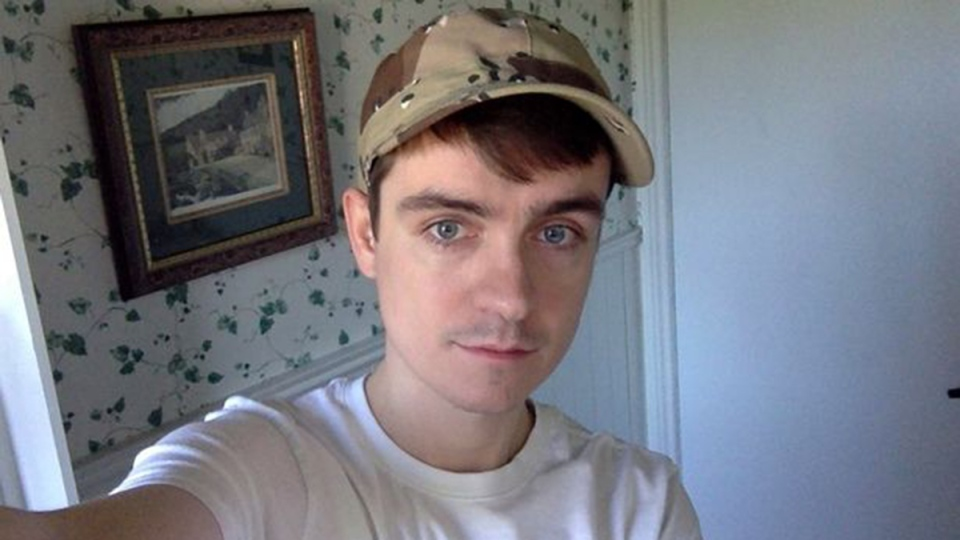Alexandre Bissonnette, shown here in this undated image, has been charged with six counts of first-degree murder in connection with the mass shooting at a Quebec City mosque.