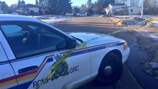 RCMP investigating a suspicious death in Warburg, Alberta, on Monday, January 30, 2017.