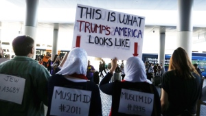 Protest on U.S. Travel Ban