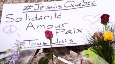 Mosque attack vigil in Quebec