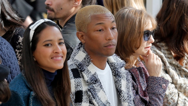Pharrell Williams becomes father to triplets