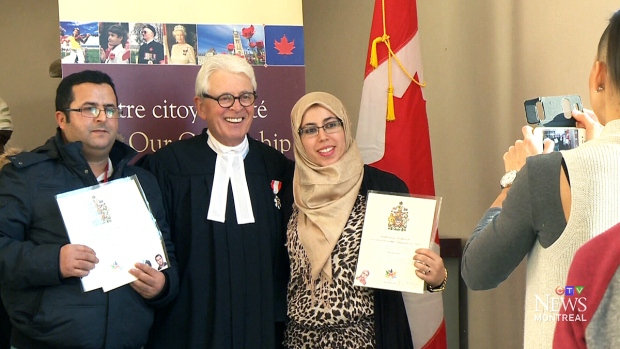 After the shooting, a citizenship ceremony | CTV News