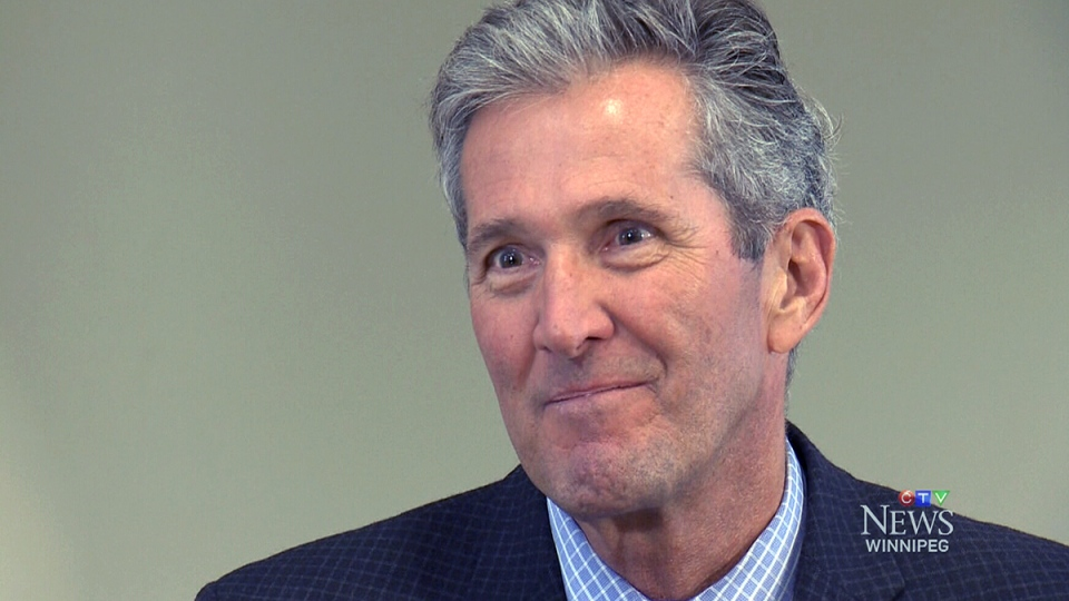 Pallister will deliver the letters during a bicycle trip between the original and current settlements of Peguis First Nation. (File Image)