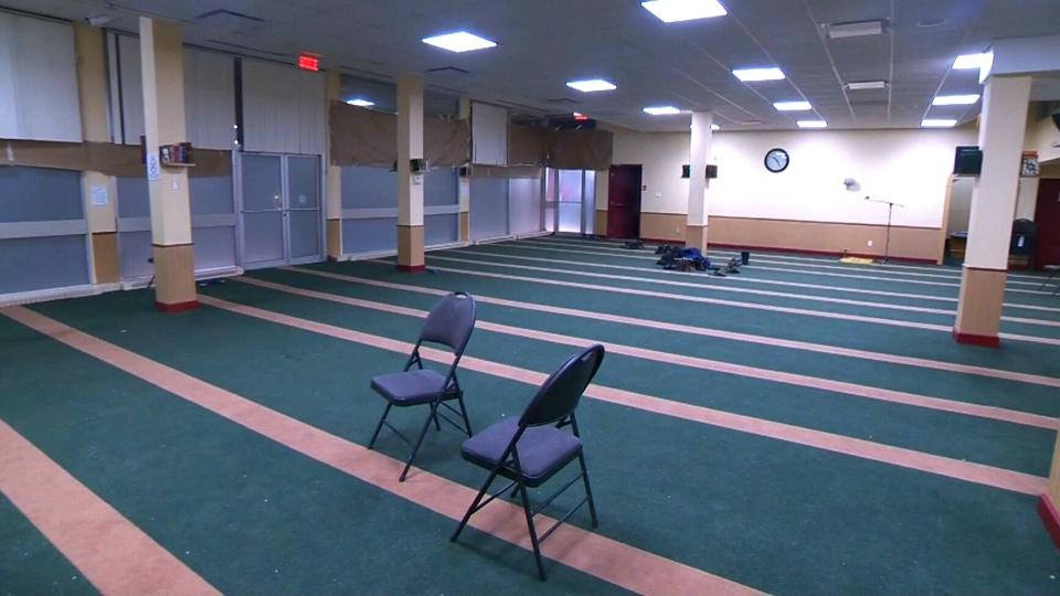 The Centre Culturel Islamique de Quebec in Sainte-Foy, where a gunman fatally shot six men, is shown on Tuesday, Jan. 31, 2017.
