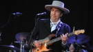 Bob Dylan is seen in this undated photo. © AFP / FRED TANNEAU