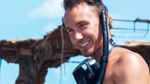 37-year-old Rob Stewart is seen in a photo posted to his Instagram account in 2016. (Source: teamsharkwater / Instagram)