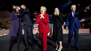 Hillary Clinton, the former secretary of state, senator and first lady, is working on a collection of personal essays that will touch upon the 2016 presidential campaign, Simon & Schuster told The Associated Press on Wednesday, Feb. 1, 2017. (AP Photo/Andrew Harnik, File)