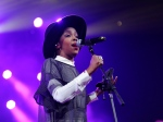 This Feb. 5, 2014 file photo shows singer Lauryn Hill performing at Amnesty International's 'Bringing Human Rights Home' Concert in New York. (Photo by Evan Agostini/Invision/AP, File)