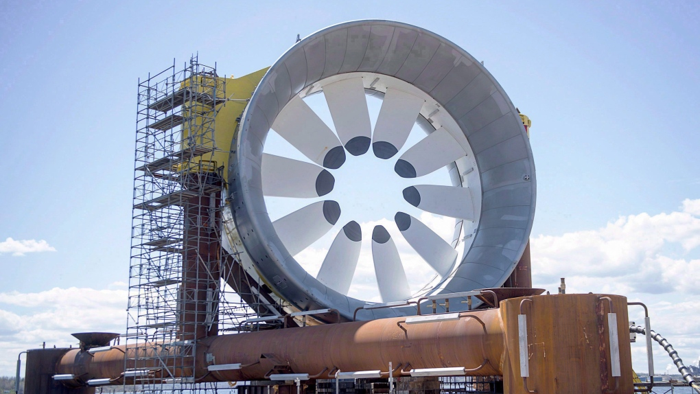 Bay of Fundy turbine