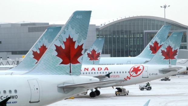 Evolink Law Group says the class action seeks compensatory damages and-or punitive damages from Air Canada. (File Photo)