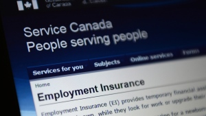 Employment Insurance options are pictured in Ottawa on Tuesday, July 7, 2015. (Sean Kilpatrick / THE CANADIAN PRESS)