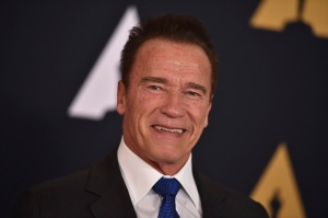 In this Nov. 12, 2016 file photo, Arnold Schwarzenegger is seen in Los Angeles. (Photo by Jordan Strauss/Invision/AP, File)