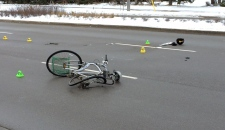 Cyclist killed