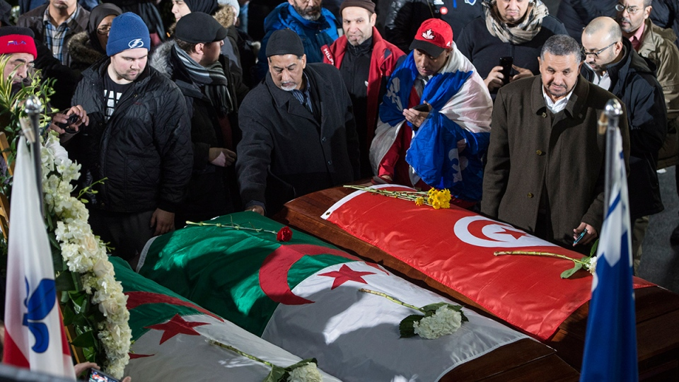 Quebec City mosque shooting funeral services