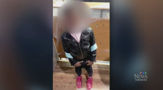 A six-year-old girl was put in handcuffs by Peel Regional Police officers at her school in Mississauga.