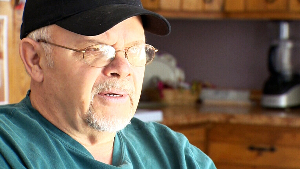 Robin Milne, 60, says he isn't getting help from the Manitoba government for a $118,000 medical bill he received after getting a procedure done in North Dakota.