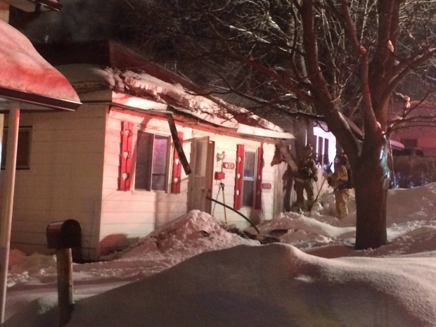 Overloaded circuit blamed for house fire in Midland | CTV News Barrie