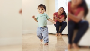 There could be reason to fear for the safety of infants who can pick up 'third-hand smoke' toxins from floors and carpets they lie or crawl on, and walls, curtains and furniture they touch, the team said. (monkeybusinessimages/Istock.com)