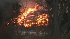 Township Road 3 barn fire