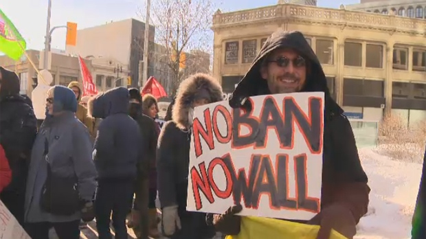Protesters push city to declare Winnipeg sanctuary