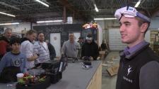 Indoor drone racing