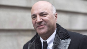 Kevin O'Leary arrives at a television studio for an interview in Toronto on Wednesday January 18, 2017. THE CANADIAN PRESS/Chris Young