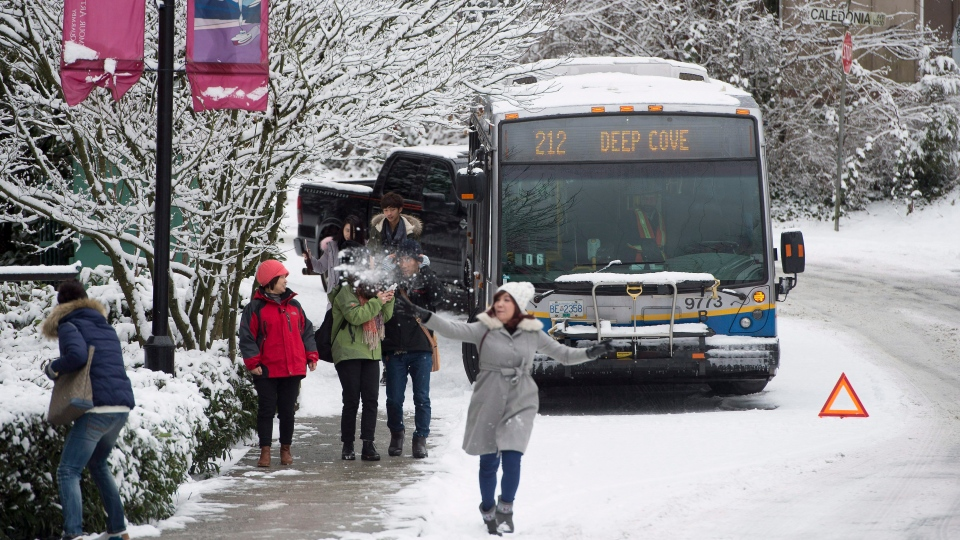 Road Conditions Vancouver: Schools, Roads Close As Latest Winter Storm Brings Snow