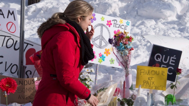 Quebec parties balk at making mosque shooting anniversary a day of awareness