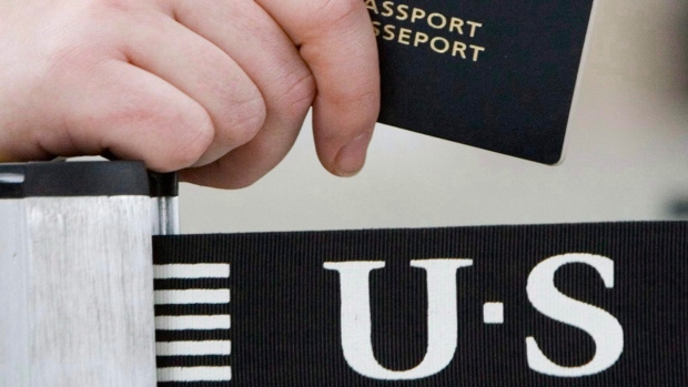 U.S.-bound traveller's Canadian passport