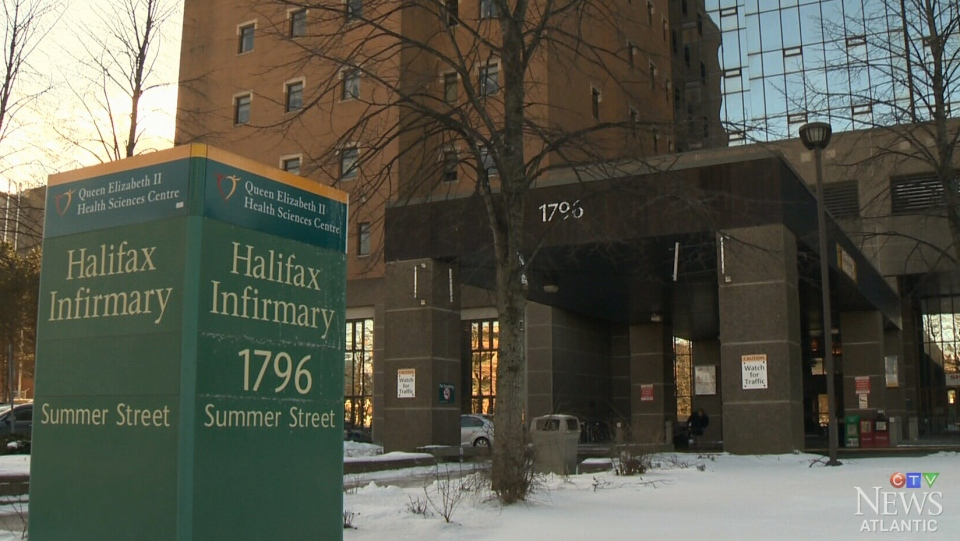 The Halifax Infirmary is seen in this undated file photo.